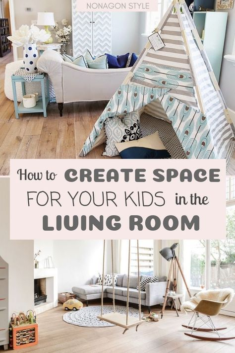 New Living Room Organization With Kids Play Areas Ideas Kid Friendly Living Room Living Room Playroom Small Kids Room