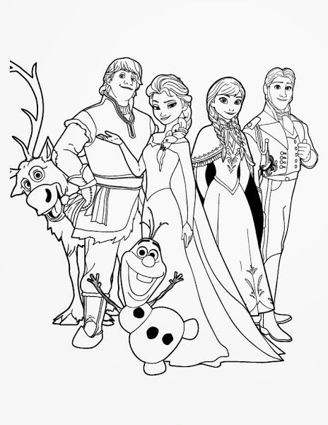 Movie Frozen Olaf Coloring Pages | Frozen coloring pages ...