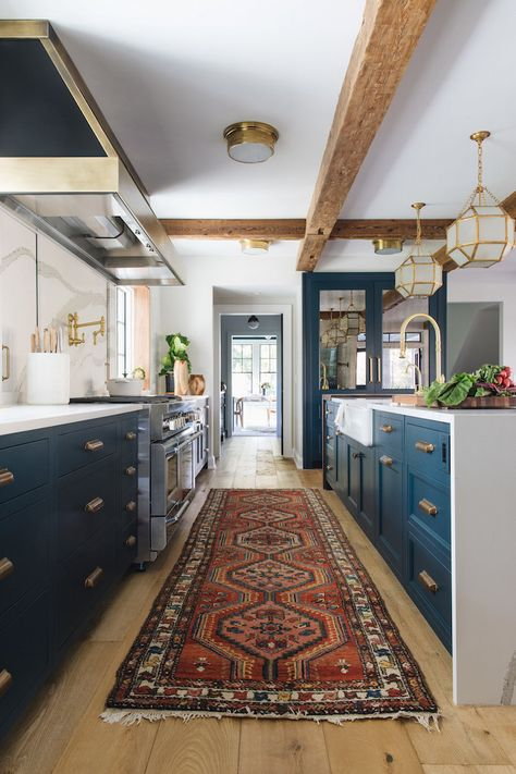 kitchen design inspiration 3 blue beautiesbecki owens home d i y rh pinterest com au