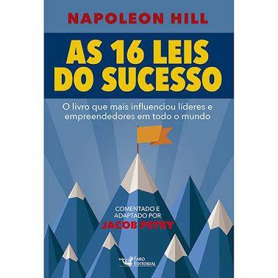 Livro As 16 Leis Do Sucesso Inspiracao Photoshop Napoleon