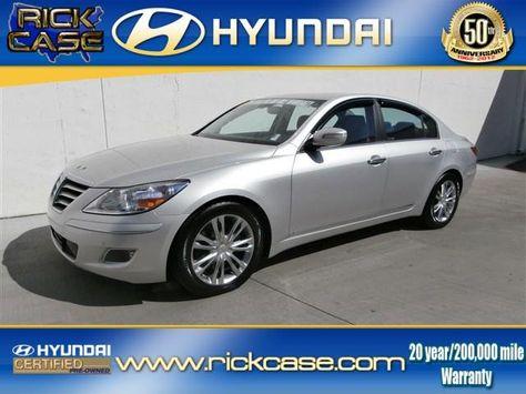 Used 2010 Hyundai Genesis In Atlanta Ga Area Rick Case Hyundai
