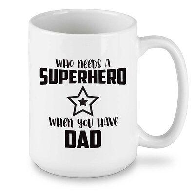 Winston Porter Reichert Superhero Coffee Mug Mugs Coffee Mugs Marvel Mug