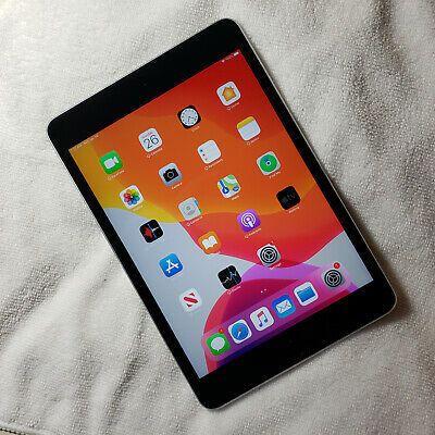 Apple Ipad Mini 4 128gb Wi Fi 7 9in Space Gray In 2020 Apple Ipad Mini Ipad Mini Apple Ipad