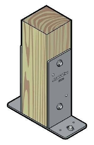 Anhor Brakets 6×6 Post Brackets Simpson     | Deck | Pole