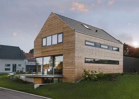 Cute Modernes Holzhaus bei Villingen Werner Ettwein GmbH Pinterest modernes Holzhaus Holzh uschen und Werner