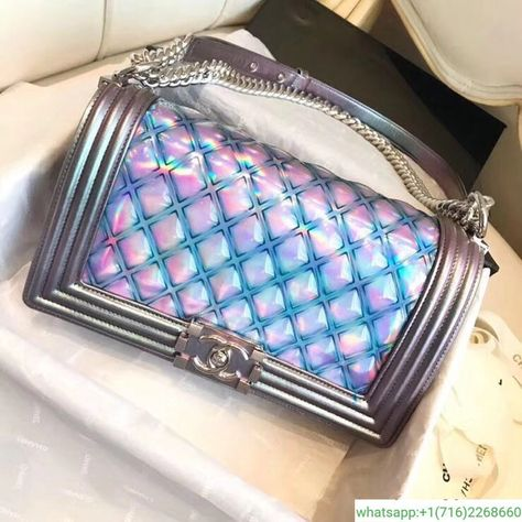 6357d9da84a1 Small BOY CHANEL Handbag PVC