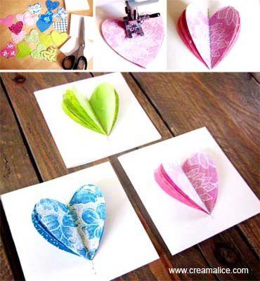 carte coeur couture                                                       …