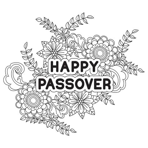 Happy Passover Coloring Page Coloring Pages Free Coloring Pages Color