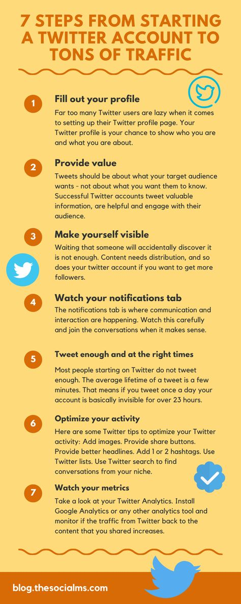 How to Start a Twitter Account and Get Tons Of Traffic
