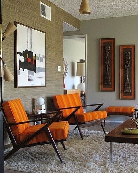 Fantastic Interior With A Pair Of Z Chairs By Poul Jensen For