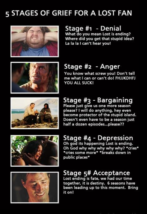 Pin By Isabel On Lost Lost Tv Show Lost Memes Stages Of Grief