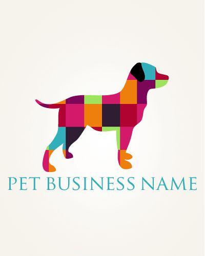 Ready Made Pet Business Logo Modern 20 Sniff Design Basics