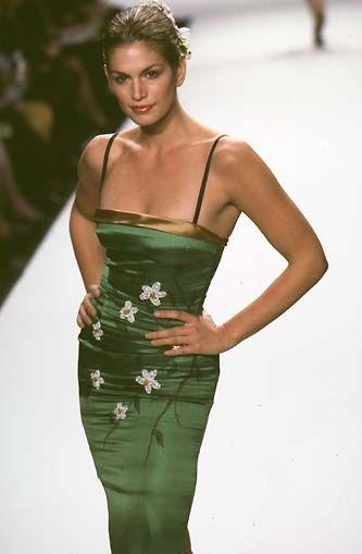 1998 Cindy Crawford - Todd Oldham Ready-To-Wear Spring/Summer