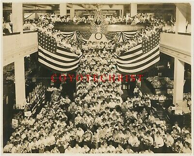 Ebay Ad Url 1913 Photo Olds Wortman King Dept Store Portland Or American Flags Rose Fest American Flag New York City Photos Antique Photos