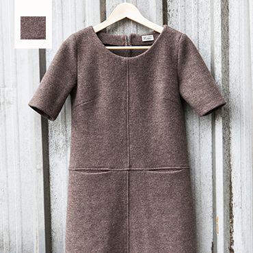 Patron de robe en laine