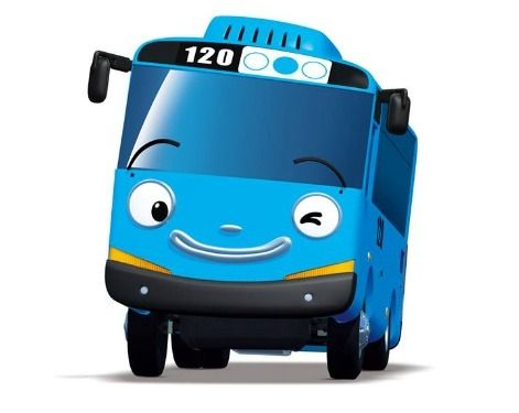 Tayo Tayo The Little Bus Character Ulang Tahun Seni Kertas