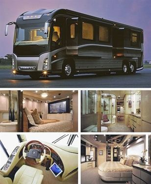 Want To Know About Purchasing A Car Look At This Luxury Rv Luxury Campers Luxury Rv Living
