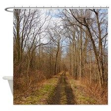 Trail Of Trees Shower Curtain