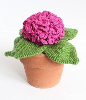 5 Patrones Para Tejer Plantas De Ganchillo Pim Pam Teje Tutorial De Flor Ganchillo Cactus De Ganchillo Ganchillo Amigurumi