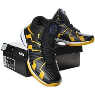 51894893eaf Nike Zoom Lebron 10.8 Shoes Black Yellow