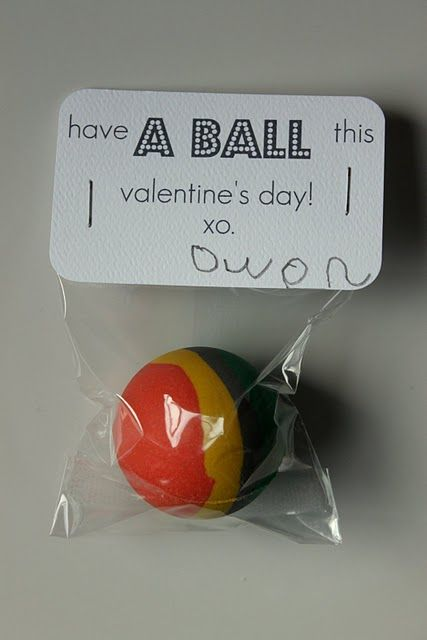 Valentines Day gift!  I think I'm going to do this for Drew's class this year!
