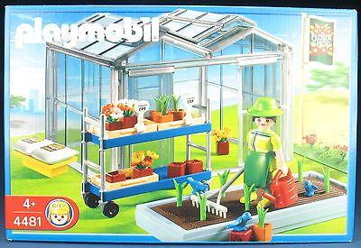 Playmobil 4481 Gewachshaus Greenhouse 2004 Neu Ovp New