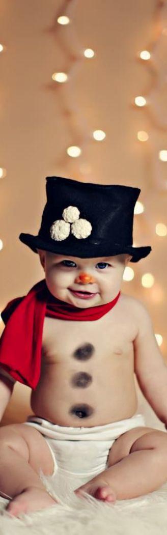 What a cute snowman,