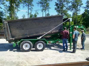 New Roll Off Trailers Dumpsters For Sale Atlanta Georgia Cedar Manufacturing In 2020 Dumpsters Atlanta Georgia Roll Off Dumpster