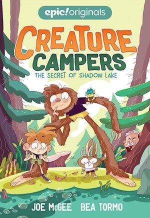 The Secret Of Shadow Lake Creature Campers Book 1 Andrews Mcmeel Publishing Funny Books For Kids Kids Book Club Books