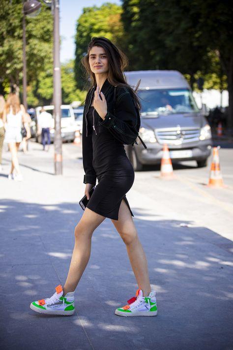 Der Perfekte Sommerlook So Funktionieren Sneaker Zum Kleid Off