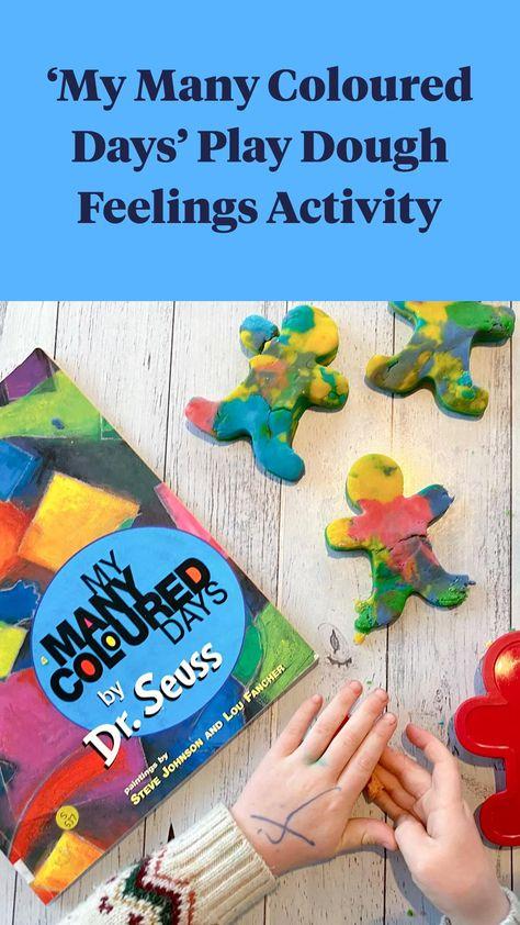 My Many Coloured Days Playdough Feelings Activity