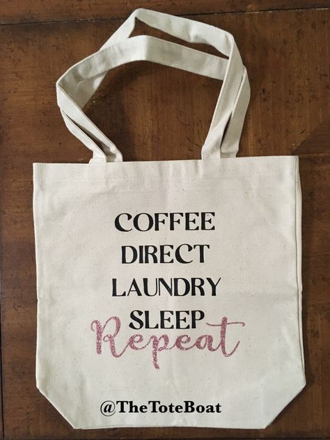 Coffee Tutor Sleep Tote Classical Conversations Tutor Tote Reusable Grocery tote