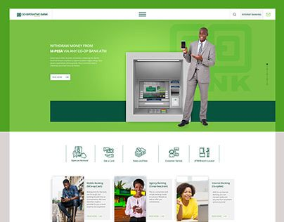 Check Out New Work On My Behance Profile Coop Bank Proposed Website Http Be Net Gallery 96806619 Coop Bank Proposed Webs In 2020 Proposal Website Growth Strategy