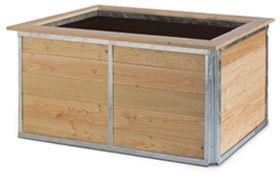 Hochbeet In Klassischem Design Langlebiges Material Hochbeet Bausatz Hochbeet Bausatz