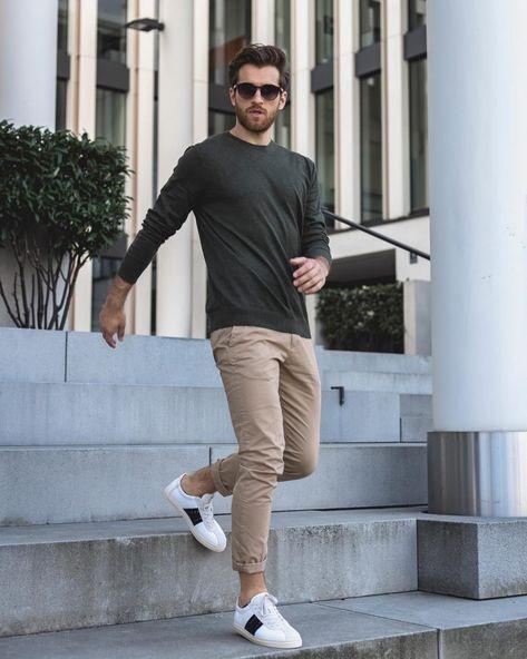 La mode by Daniel Toni Jais – # … – Men Styles Chinos Men Outfit, Shirt Outfit, Man Outfit, Fashion Mode, Fashion Trends, Fashion Blogs, Fashion Photo, Womens Fashion, Style Fashion