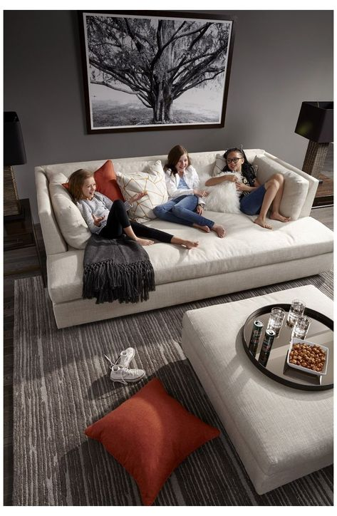 Media Room Seating, Living Room Seating, Lounge Seating, Living Room Sofa, Living Room Furniture, Sofas For Small Spaces, Small Living Rooms, Small Media Rooms, Family Rooms