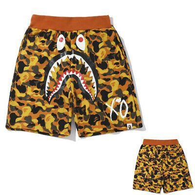 Men/'s Pants Shorts A Bathing Ape Bape Unisex Shorts Casual Sports Short