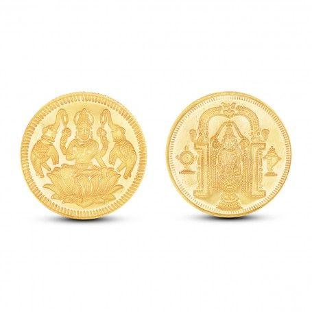 10 Gram Lakshmi Balaji Gold Coin Gold Coins Coins Gold