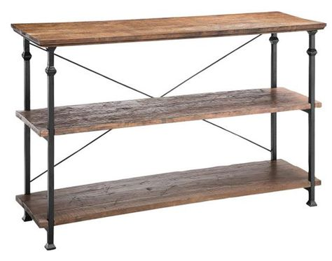Fine Poplar Estates Console Table Industrial Iron Console Short Links Chair Design For Home Short Linksinfo