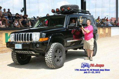 "Jeep Grand Cherokee and Jeep Commander 8"" lift kit"