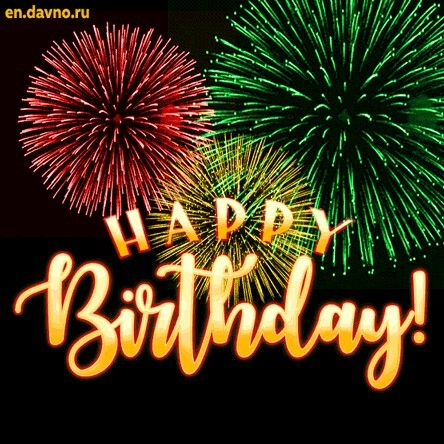 Pin By Viviane Madhoo On Birth A Date Happy Birthday Fireworks Happy Birthday Greetings