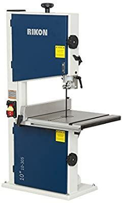Rikon 10 305 Bandsaw With Fence 10 Inch Power Band Saws Amazon Com In 2020 Bandsaw Cool Bands Portable Band Saw