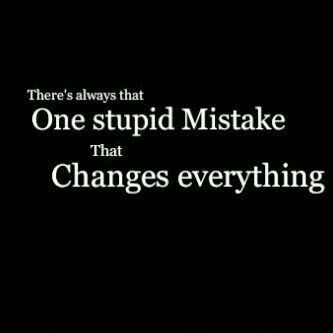30 Inspirational Mistake Quotes And Sayings For Moving On In Life Enkiquotes Regret Quotes Mistake Quotes Sorry Quotes