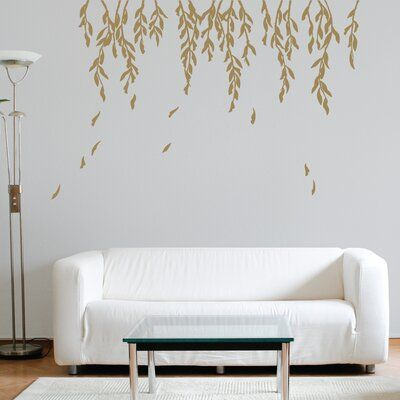 Willow Branches Wall Decal Decor