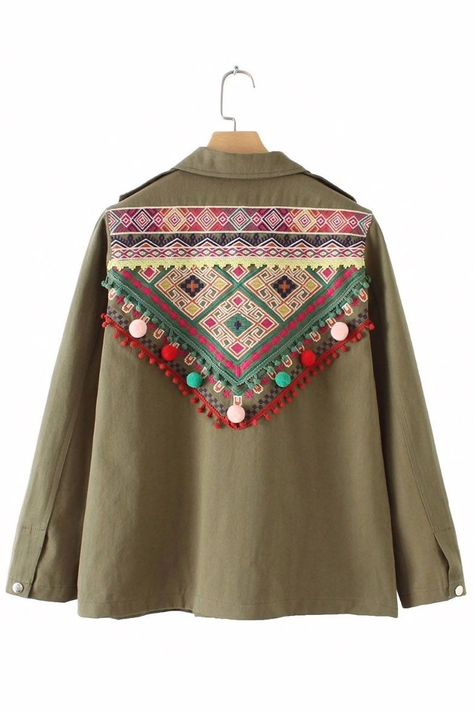 About: This Gypset Vintage Embroidery Coat is a perfect addition for your winter collection! Made from high-quality cotton, this coat can give you a warm winter with your usual boho look!