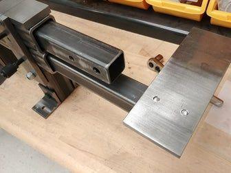 Bolt Together 2 X 72 Belt Grinder 12 Steps With Pictures Belt Grinder Belt Grinder Plans 2x72 Belt Grinder Plans