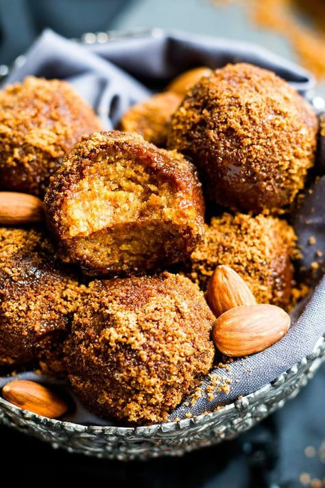 No Bake Pumpkin Pie Balls Gluten Free Vegan