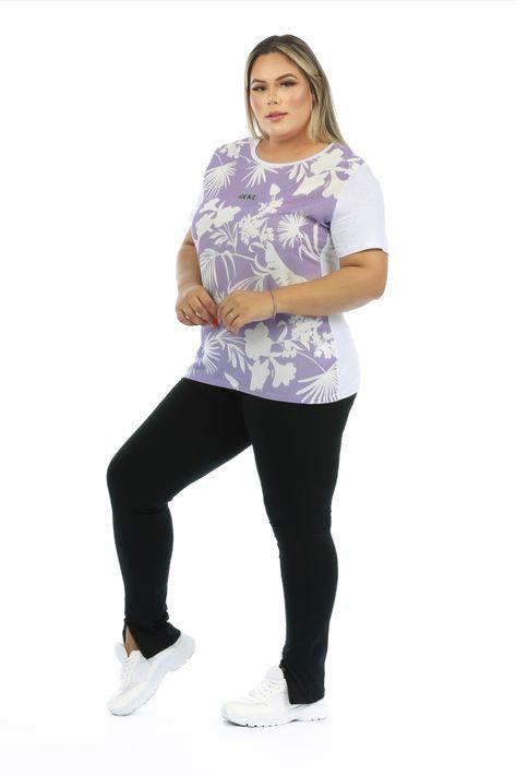 T-shirt com frente estampada, mangas e costas branca. Fica incrível soltinha ou com nózinho. #tshirt #lilás #candycolor #lookurbano #malhaalgodao #calçalegging #tshirtestampada #camiseta #lookcalçalegging #calçapreta #comousar #trend #tendencia2021 #riukiuoficial #moda2021 #atemporal #dicasdelooks