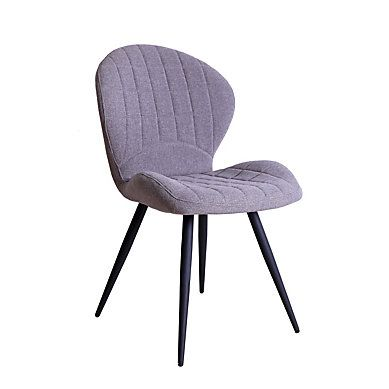 Confortable Et Sobre La Chaise Celeste Gris Est Disponible Sur But Fr Fauteuil De Table Chaise De Salle A Manger Chaise