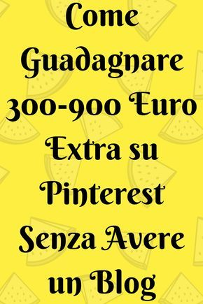 guadagnare soldi extra online in italy